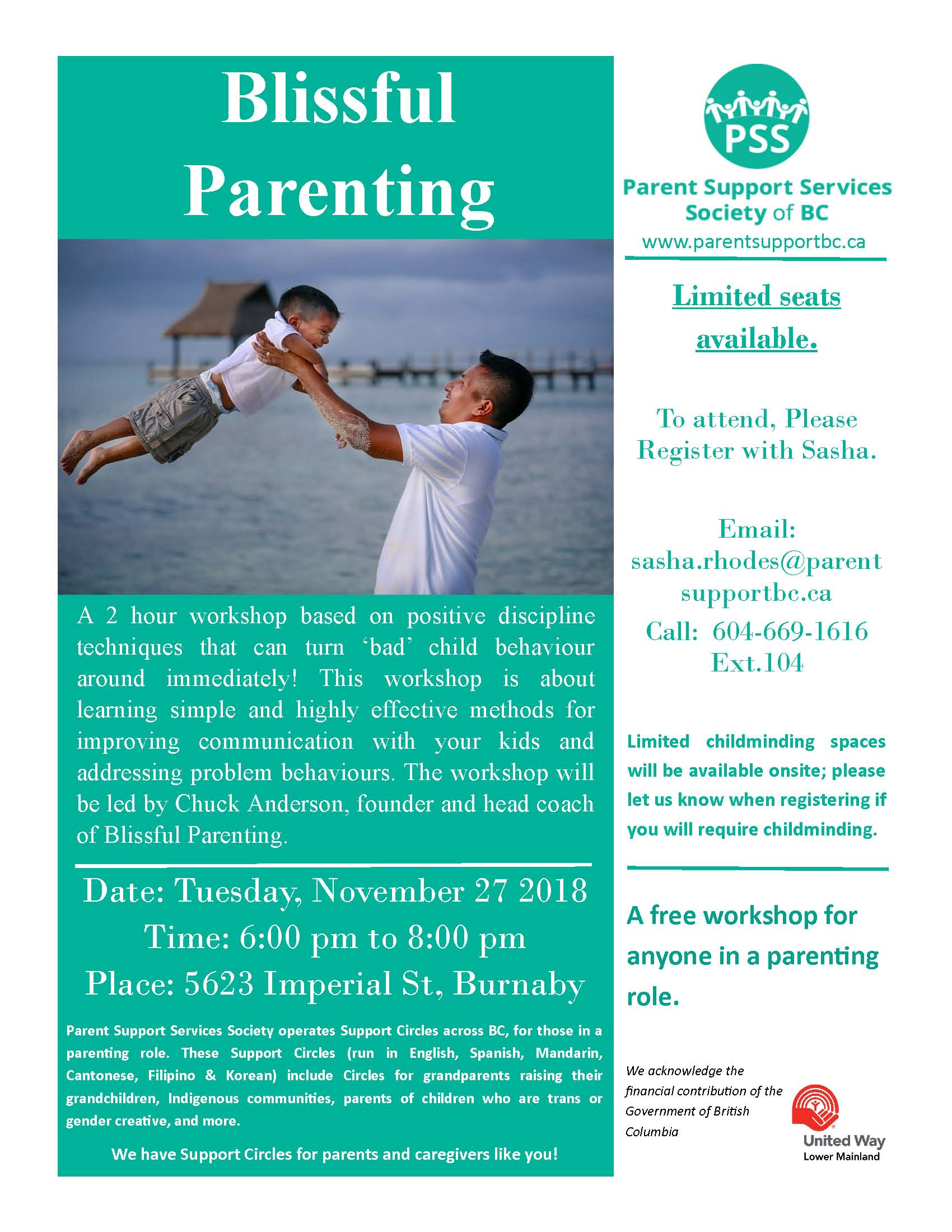 Parenting Education - Parent Support Services Society of BC