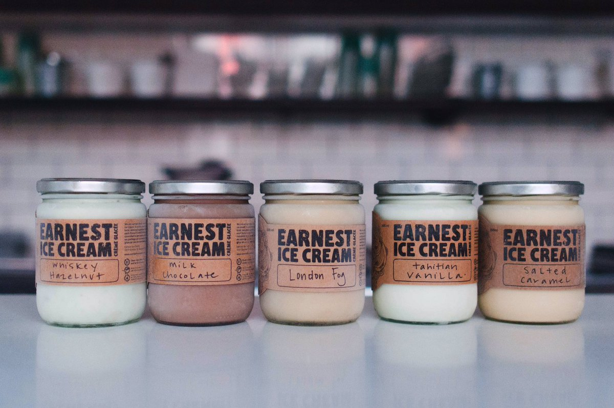 2 x $25 Gift Card to Earnest Ice Cream